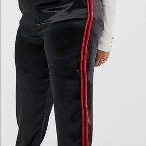 ASOS Curve Luxe Satin Pants